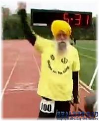 Столетний британец стал самым старым марафонцем