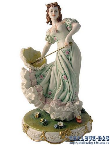 Итальянские фарфоровые статуэтки