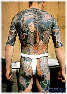 Японская татуировка «иредзуми»