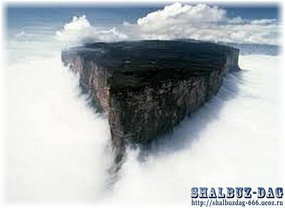 Чудо гора «Рорайма»
