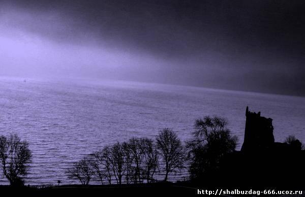 Озеро Лох-Несс, и его чудовище...