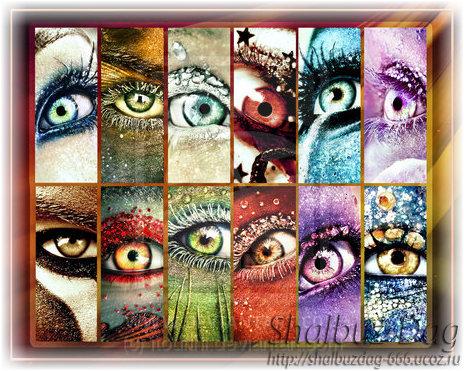 Глаза по знакам Зодиака (Zodiac eyes calendar)