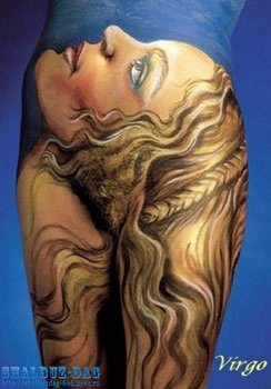 Символика татуировки (тату) » Знаки зодиака – Дева