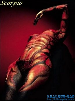Символика татуировки (тату) » Знаки зодиака – Скорпион